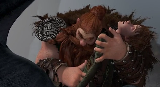 Image: Stoick and Hiccup from How to Train Your Dragon