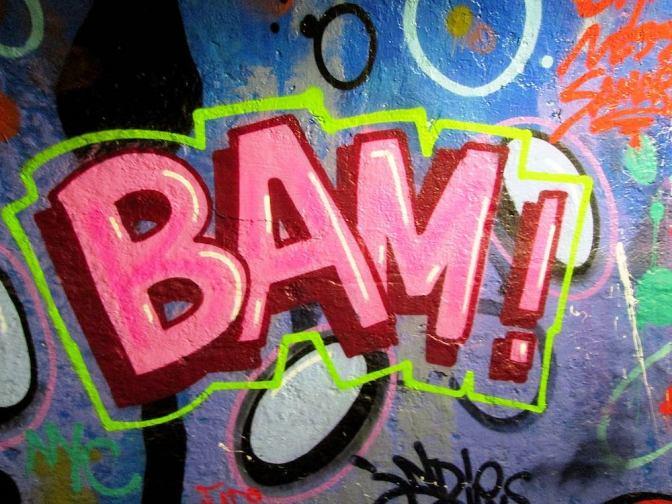 Image: Bam! Street Art