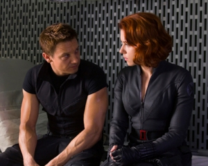 Image: Hawkeye and Black Widow