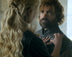 Image: Tyrion and Daenerys