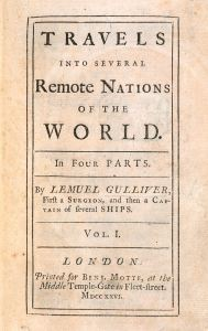 TItle Page: Gulliver's Travels
