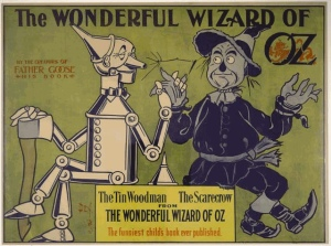 Poster for The Wonderful Wizard of Oz, 1900