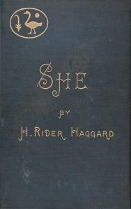 Book Cover: She A History of Adventure 1887