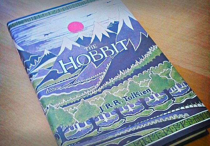 Book Cover: The Hobbit, based on original dust jacket