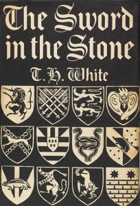 First Edition Dust Jacket: The Sword in the Stone