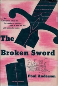 First edition dust-jacket: The Broken Sword