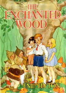 First Edition Book Cover: The Enchanted Wood