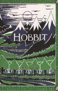 First Edition Dust Jacket: The Hobbit