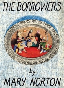 1st edition book cover: The Borrowers