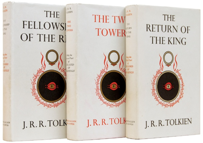 First edition covers: