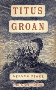 First Edition Cover: Titus Groan