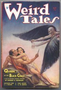 Weird Tales Magazine Cover 1934: Conan Story