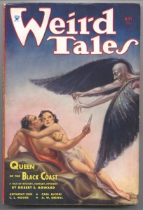 Weird Tales Magazine Cover 1934: Conan Story