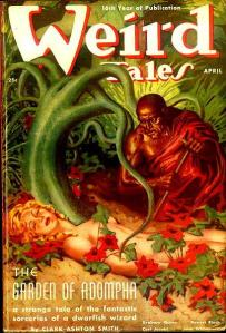 Weird Tales Magazine Cover 1938: Tales of Zothique story