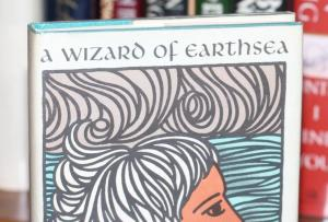 Image: Hardcover first edition, A Wizard of Earthsea