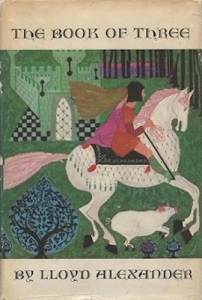 1st edition book cover: The Book of Three