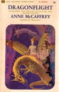 1st edition book cover: Dragonflight