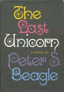 1st edition book cover: The Last Unicorn