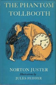 1st edition book cover: The Phantom Tollbooth