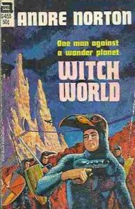 1st edition book cover: Witch World