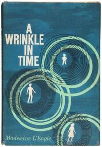 1st edition book cover: A Wrinkle in Time