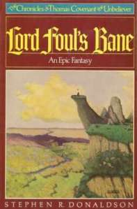 1st edition book cover: Lord Foul's Bane