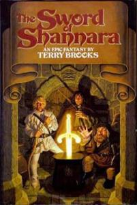 1st edition book cover: The Sword of Shannara
