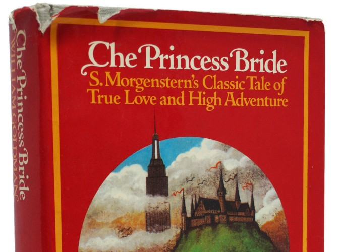 Image: hardcover first edition of The Princess Bride