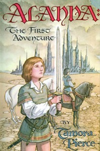 1st edition book cover: Alanna The First Adventure