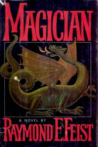 1st edition book cover: Magician