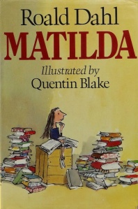 1st edition book cover: Matilda