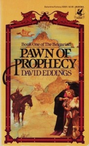 1st edition book cover: Pawn of Prophecy