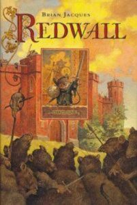 1st edition book cover: Redwall