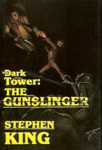 1st edition book cover: The Gunslinger