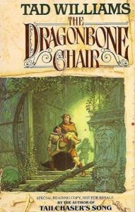 1st edition book cover: The Dragonbone Chair