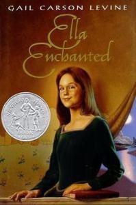 Book cover: Ella Enchanted 1997