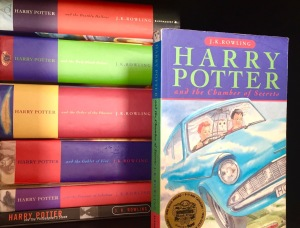 Image: Harry Potter Series with Chamber of Secrets 1998 Paperback Featured