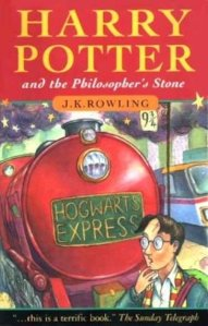 1st edition book cover: Harry Potter and the Philosopher's Stone 1997