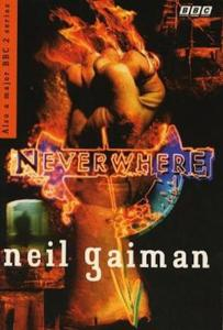1st edition book cover: Neverwhere 1996