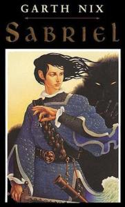 1st edition book cover: Sabriel 1995