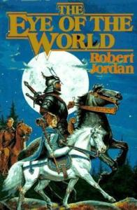 1st edition book cover: The Eye of The World 1990
