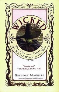 1st edition book cover: Wicked 1995