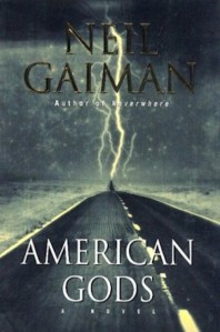 1st edition book cover: American Gods