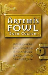 1st edition book cover: Artemis Fowl