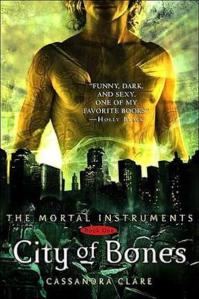 1st edition book cover: City of Bones