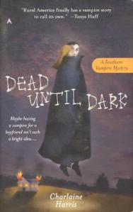 1st edition book cover: Dead Until Dark