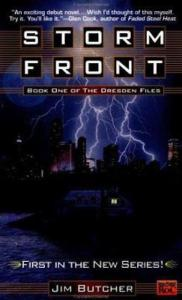 1st edition book cover: Storm Front