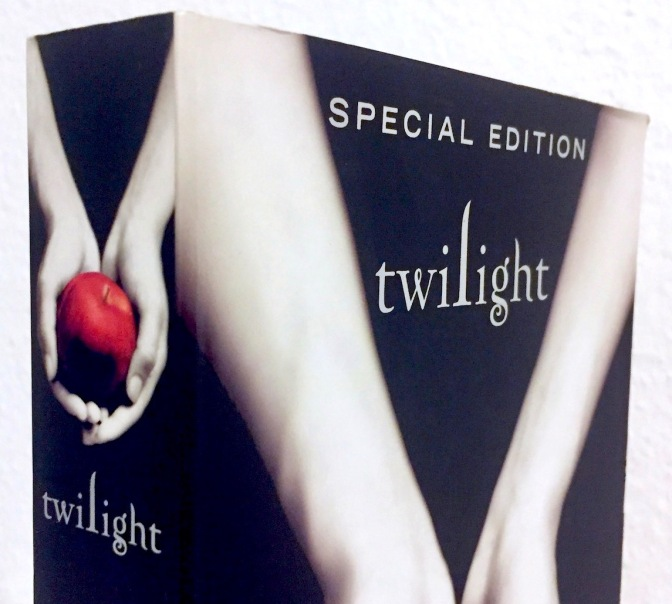 Image: paperback copy of Twilight