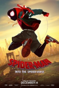 Film Poster: Spider-Man Into the Spider-Verse