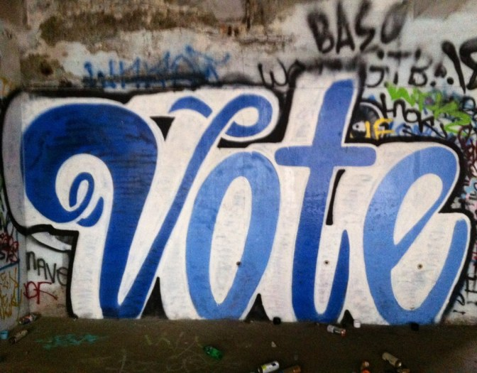 Image: Vote Graffiti